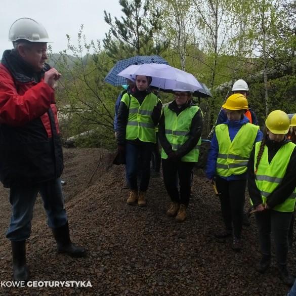Warsztaty geologiczne dla licealistów Zalas-Mirów