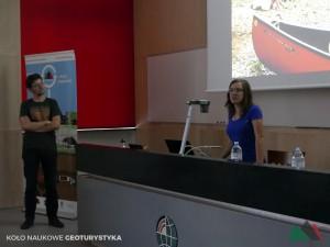 Maciek i Renia w swojej opowieści zwrócili uwagę na geoturystyczne aspekty jakie można znaleźć na szlaku Te Araora.
