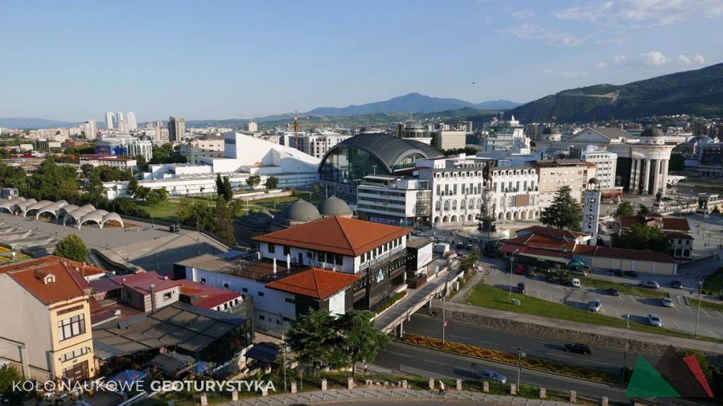 Po trzęsieniu ziemi Skopje odbudowano w nowoczesnym wydaniu