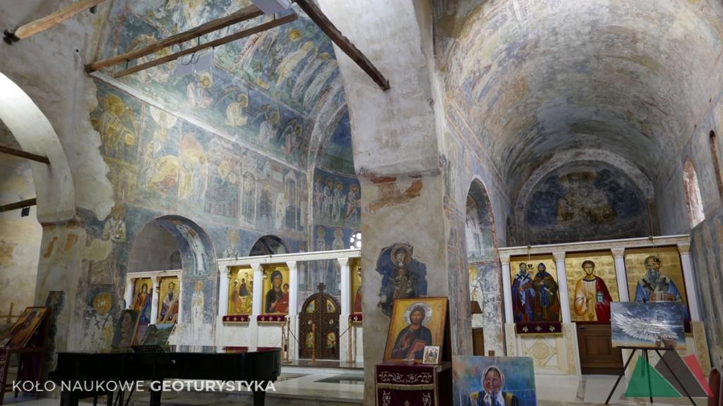 Cerkiew Św. Zofii z wspaniale zachowanymi freskami