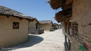 Rekonstrukcja wioski w Bay of Bones